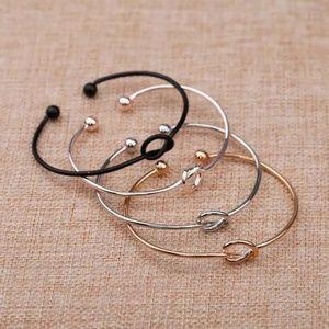 Jewelry - 5 for $25 Knot Heart Cuff Bracelet